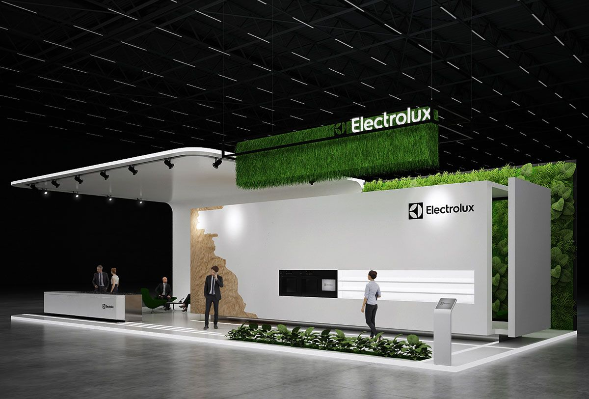 Expo Stands Trade Fair 2017 : Electrolux exhibition stand design