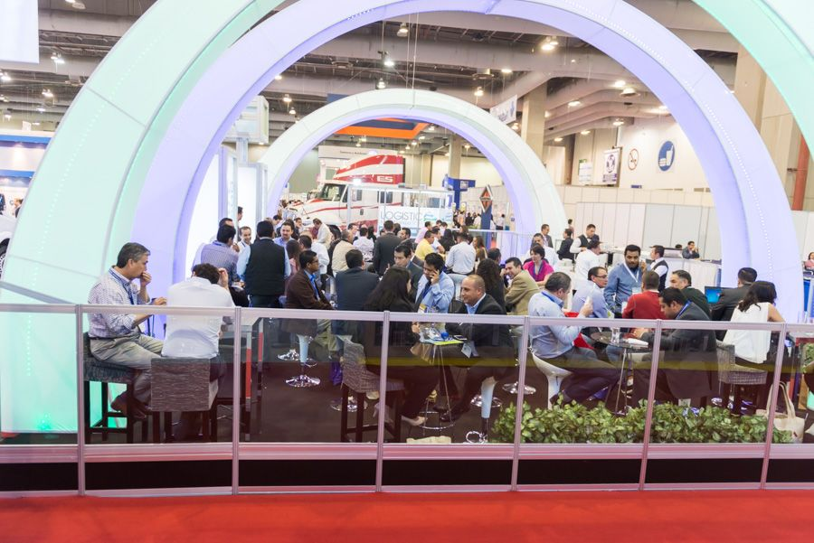 Expo Stands Ideas : Logistic summit expo