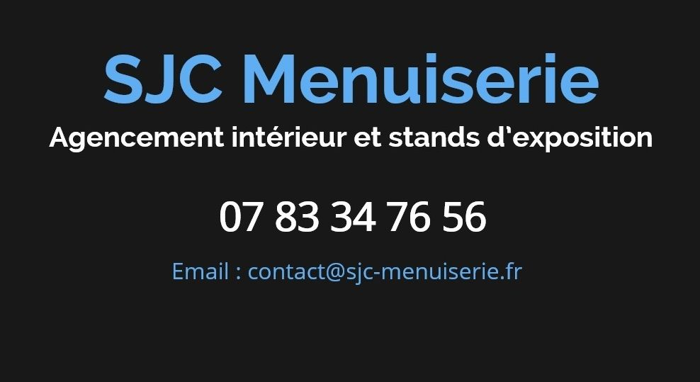 sjc menuiserie ForMenuiserie Stand