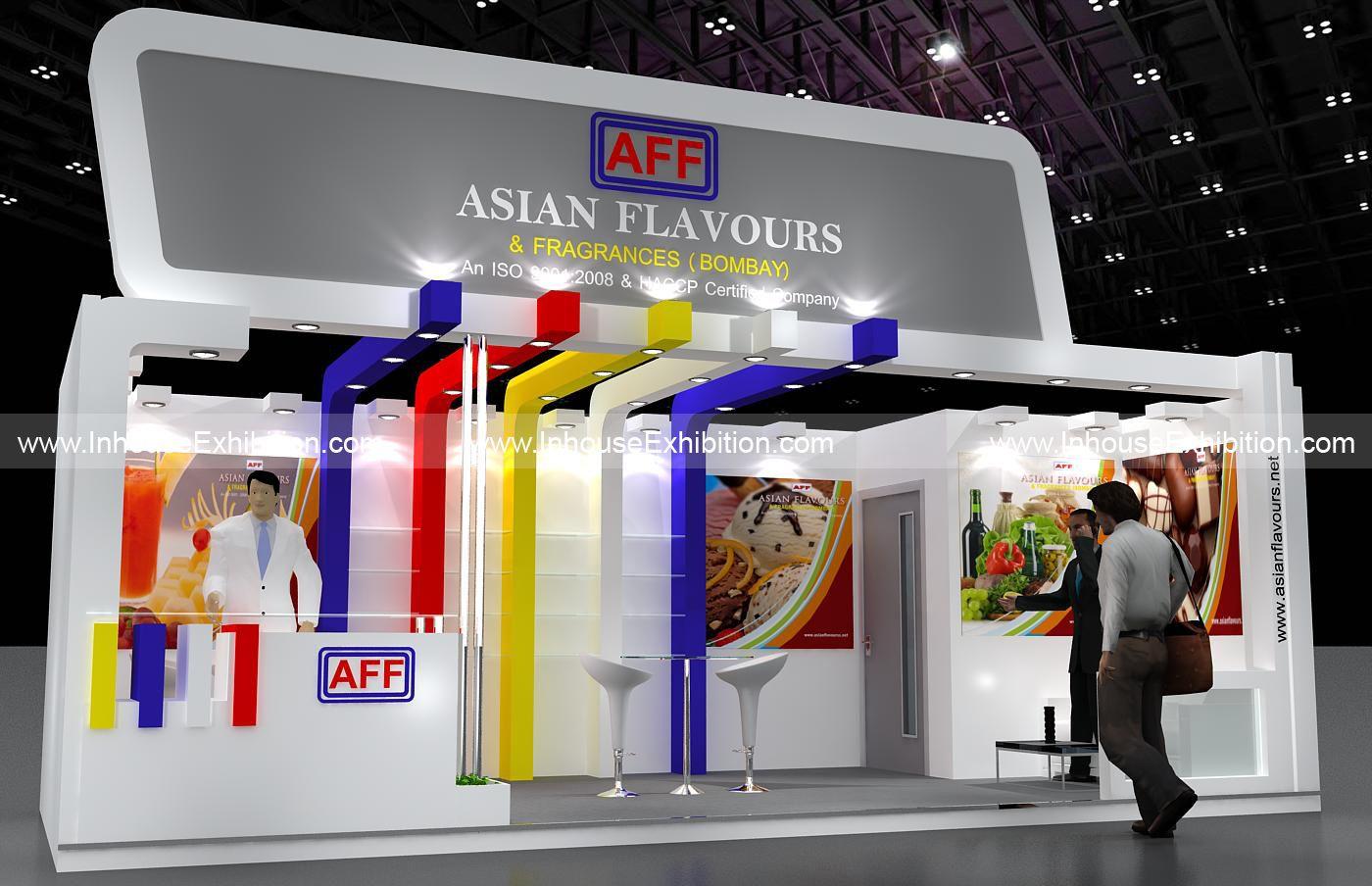 Exhibition Stand Company In Qatar : Inhouse exhibition