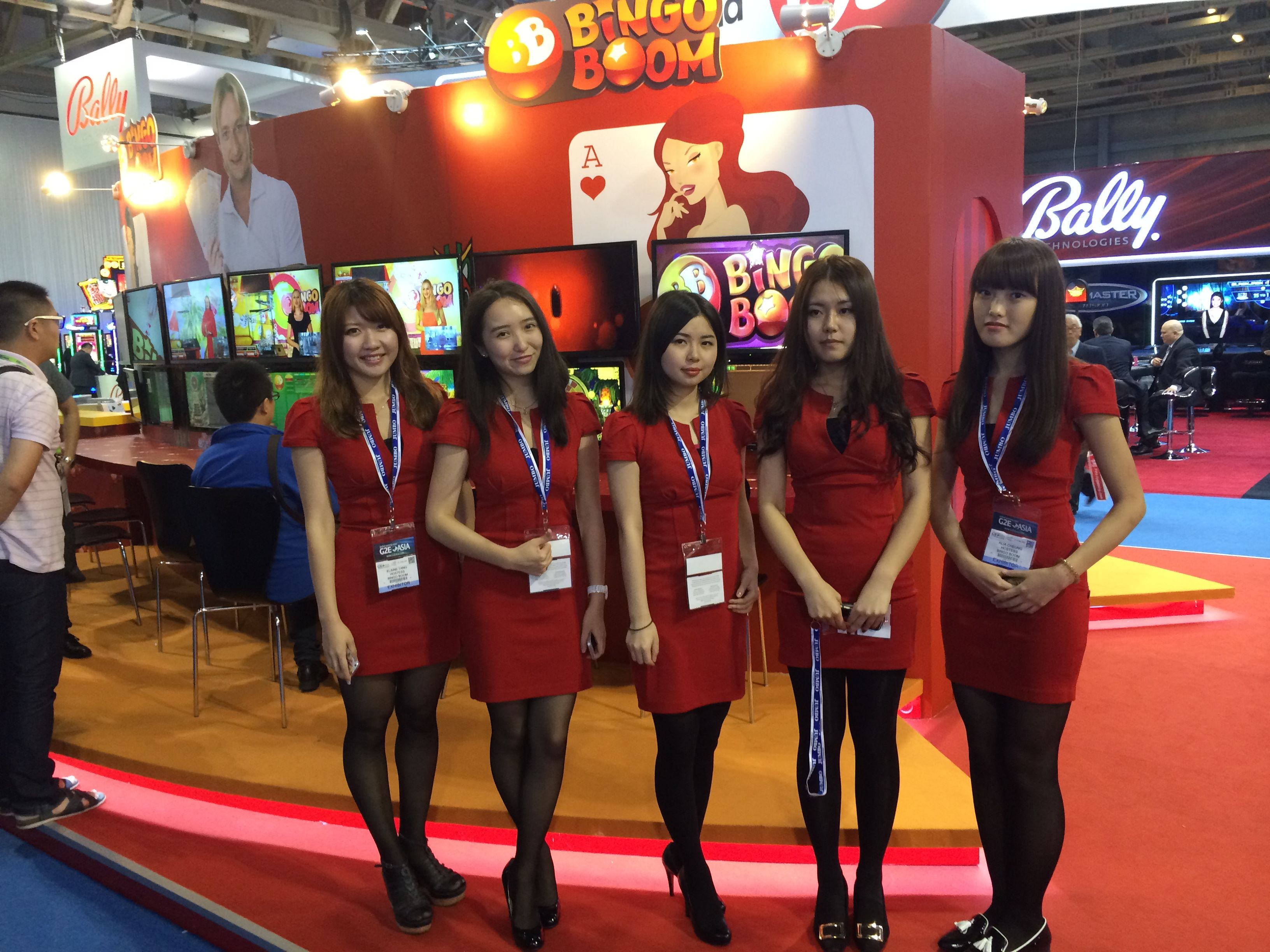 Exhibition Stand Hostess : Hostesses in macao