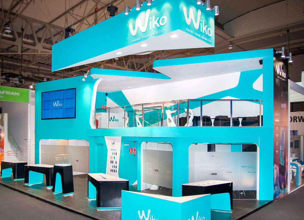 Mobile World Congress Barcelona Exhibition Stand Design