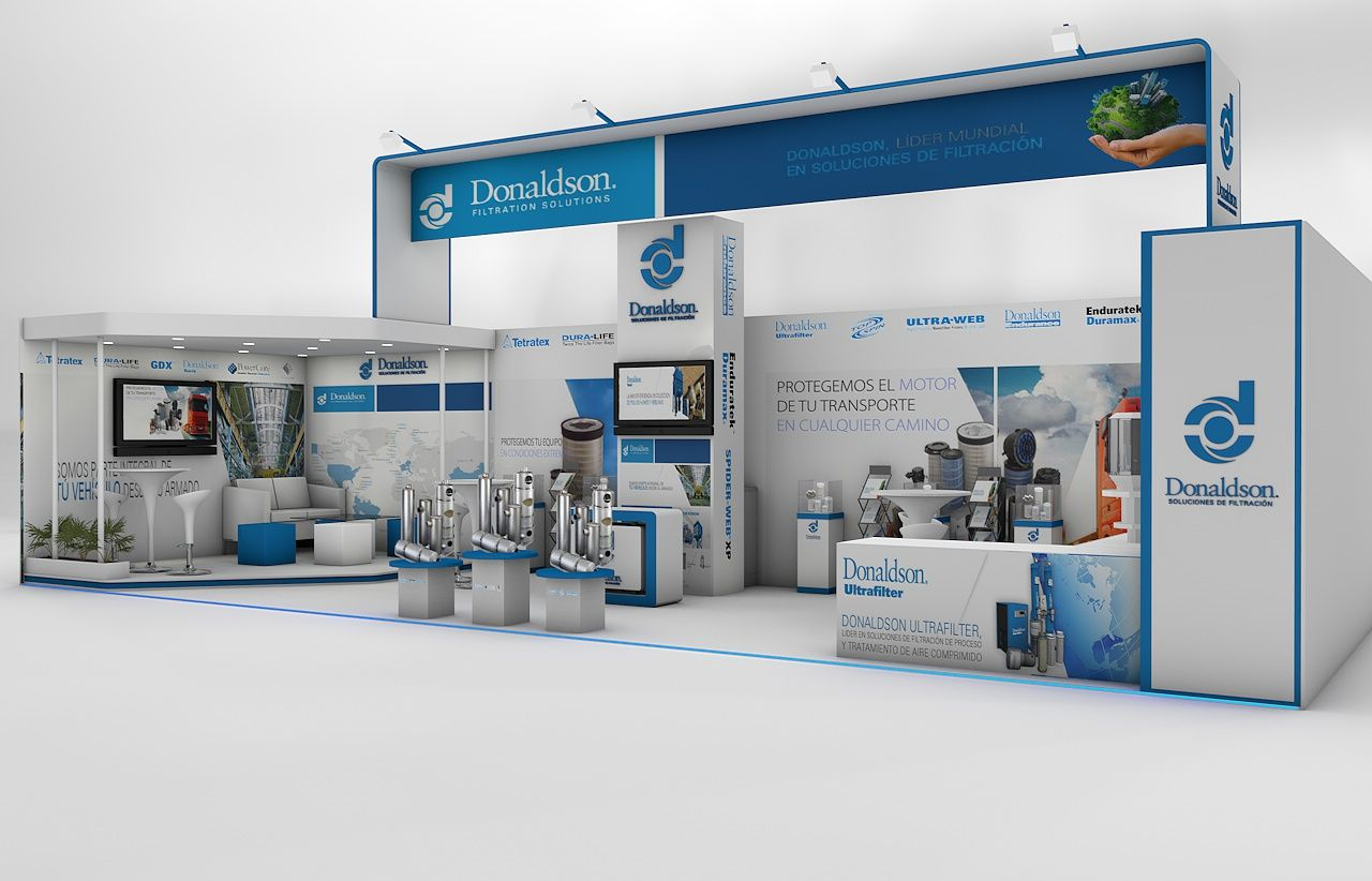 Exhibition Stand Expomin Chile