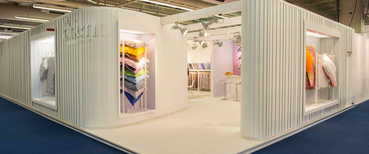 Exhibition stands in frankfurt for Furniture design exhibition