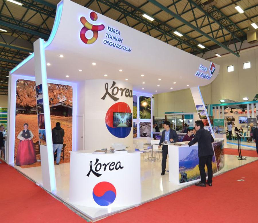 Tourism Exhibition Booth Design : Exhibition stands in istanbul