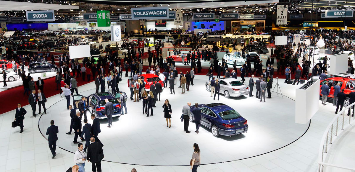 Geneva Motor Show Exhibition Area
