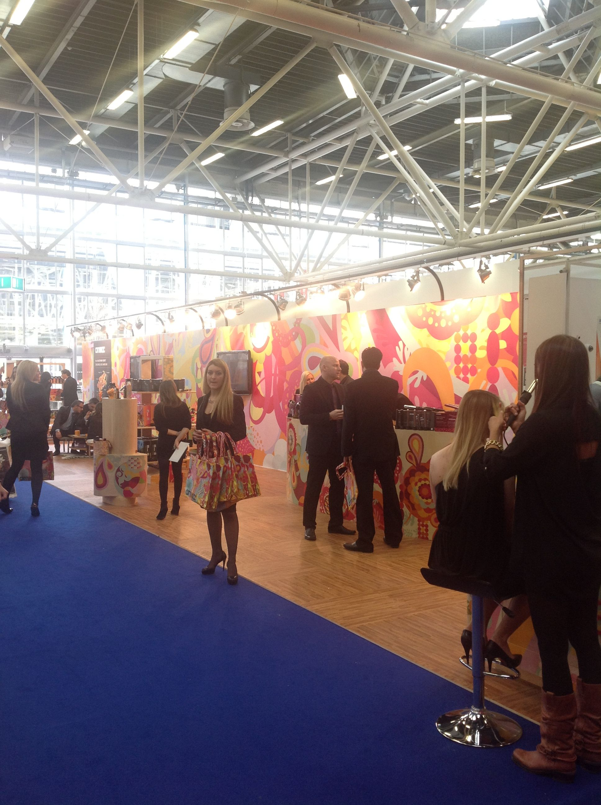 Cosmoprof Bologna Exhibition Booth