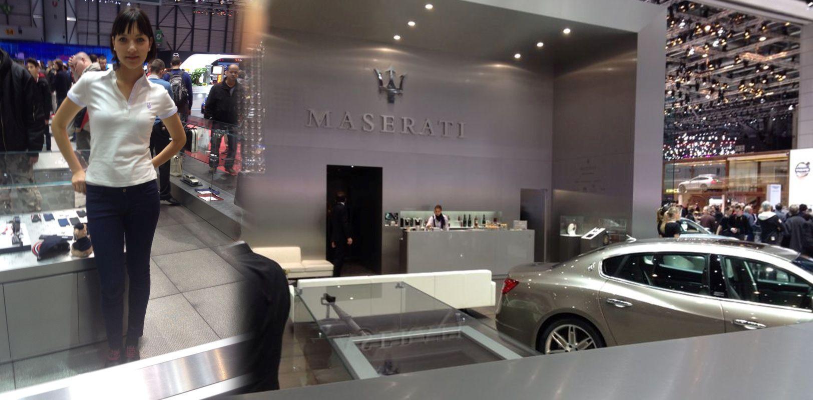 Hostess stand Maserati Ginevra