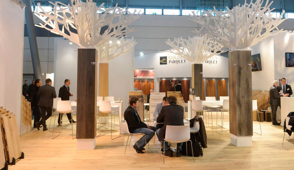 Bespoke Exhibition Design Stand Hanover Domotex