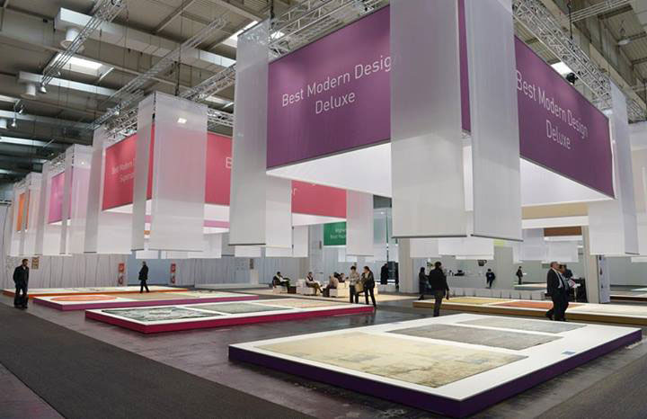 Exhibit Booth Domotex Hannover