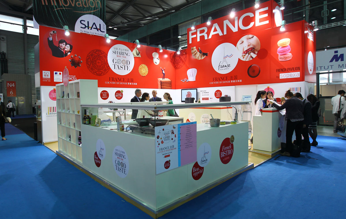 Sial China France Stand