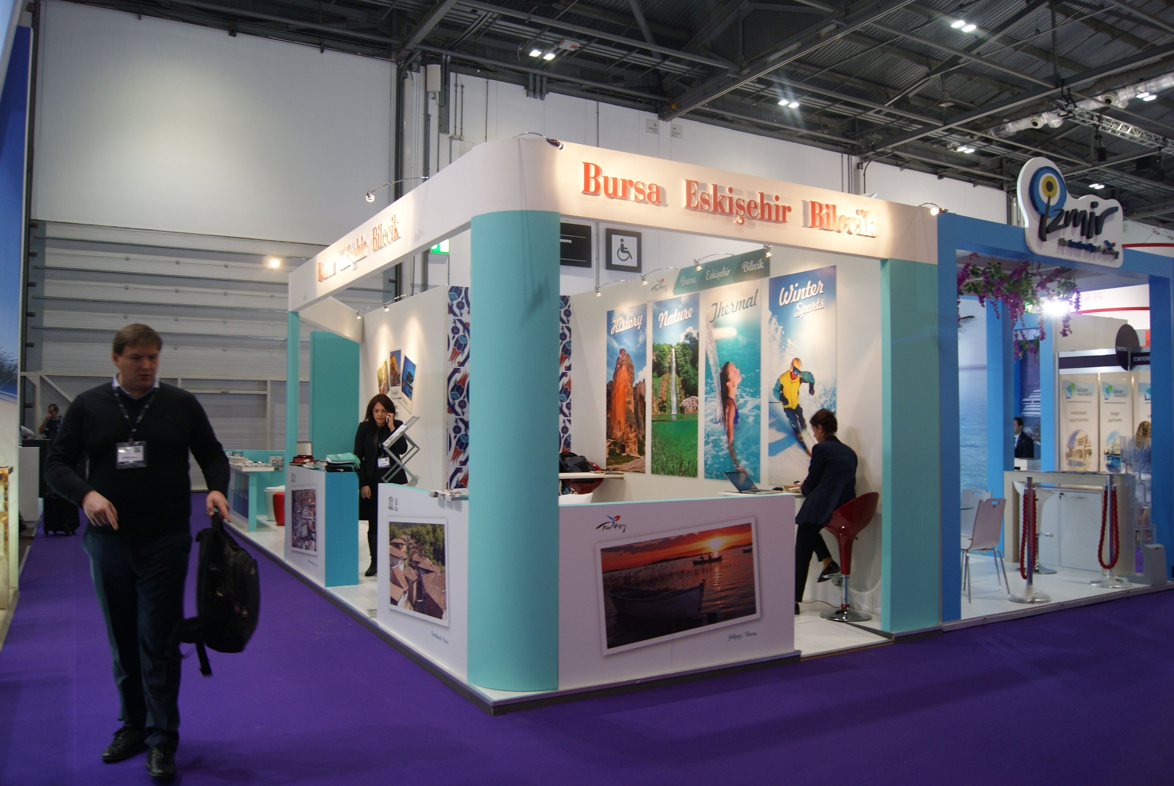 London travel show exhibition Stand