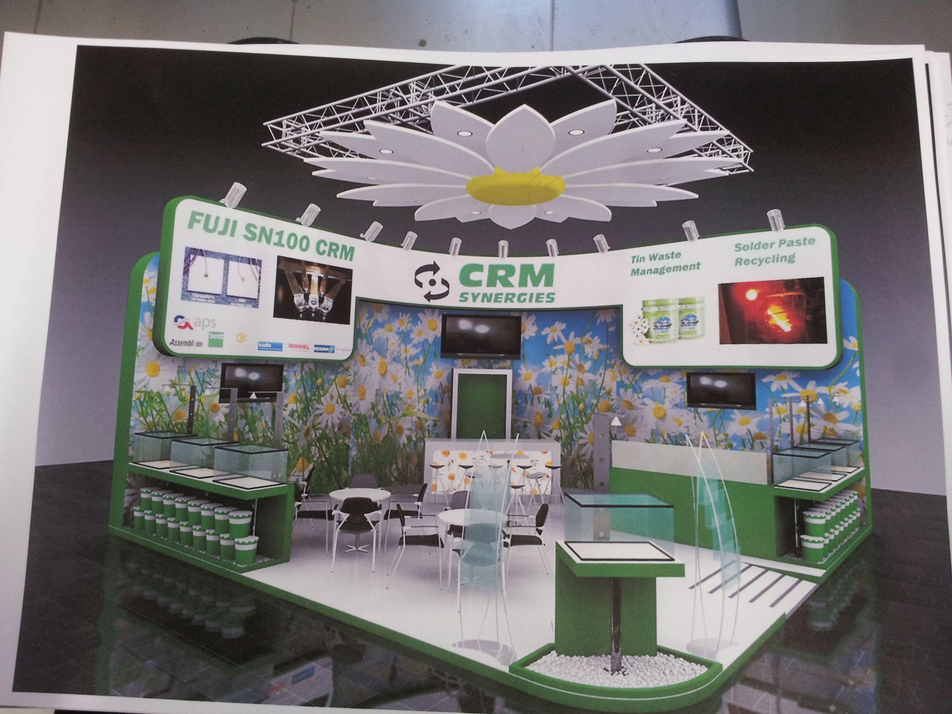 Stand de diseño en el Salón Internacional de la Electrónica de Munich