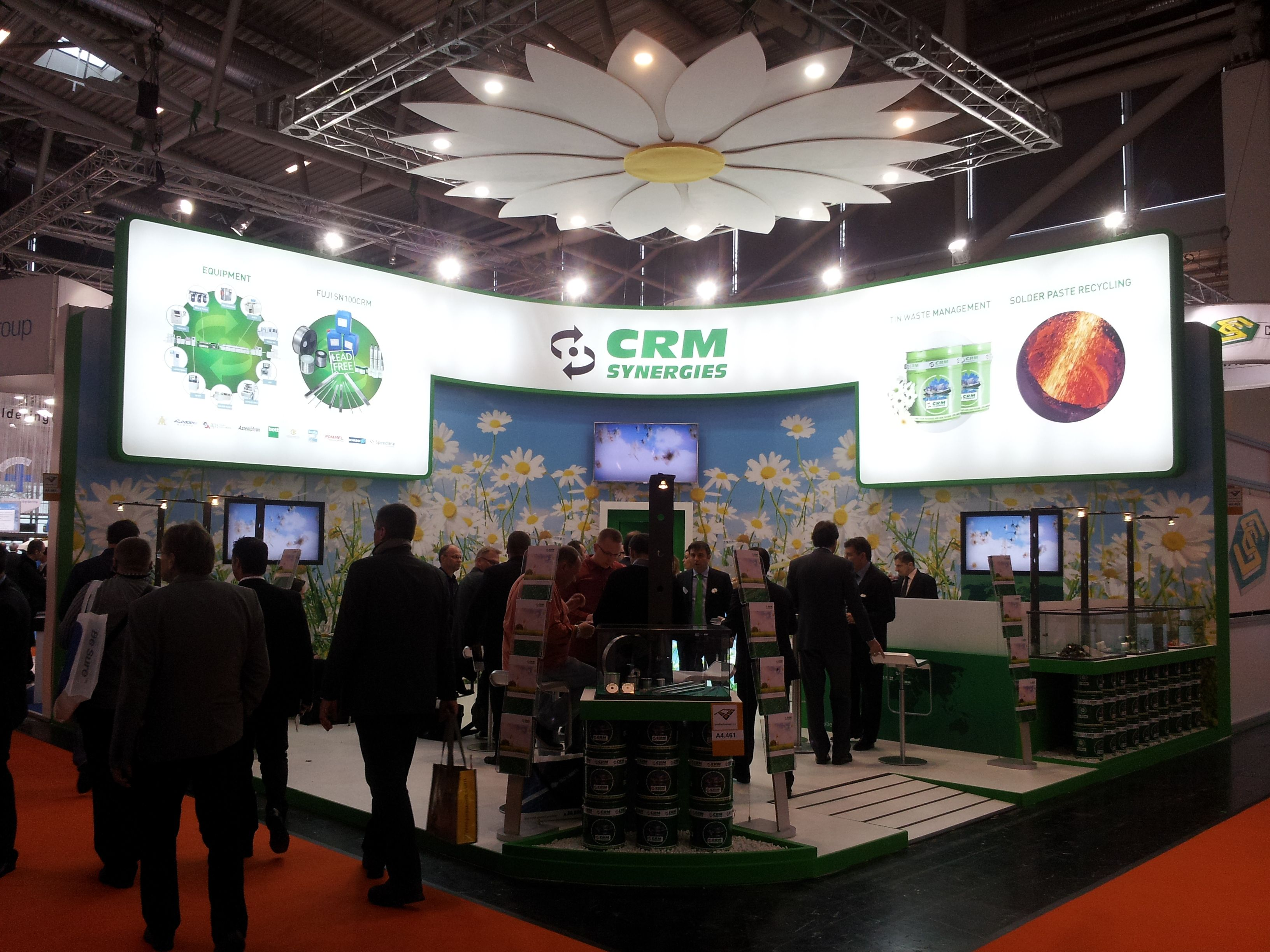 Stand Productronica de Munich