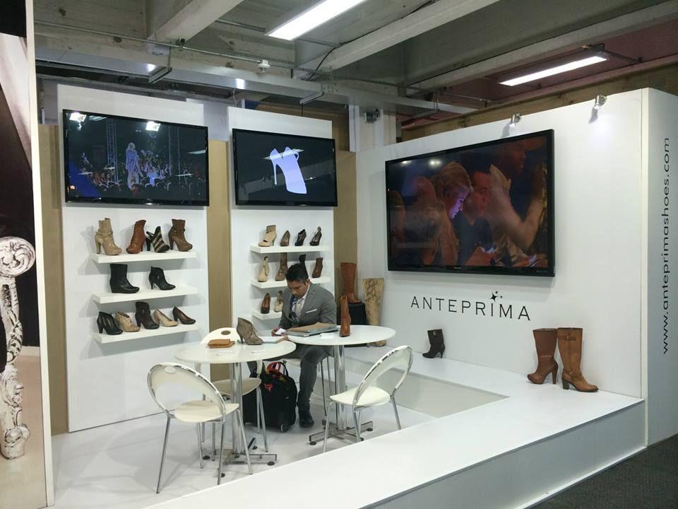 Stands de diseño en Footwear & Leather Bogotá
