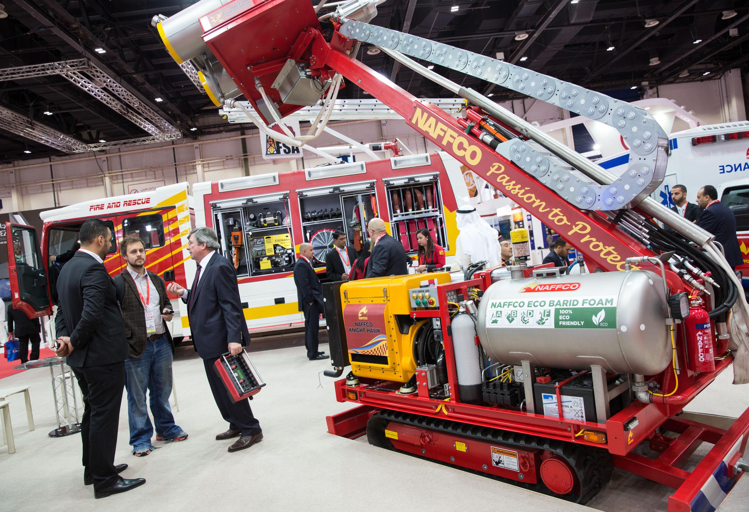 Intersec Dubai Exhibition Booth