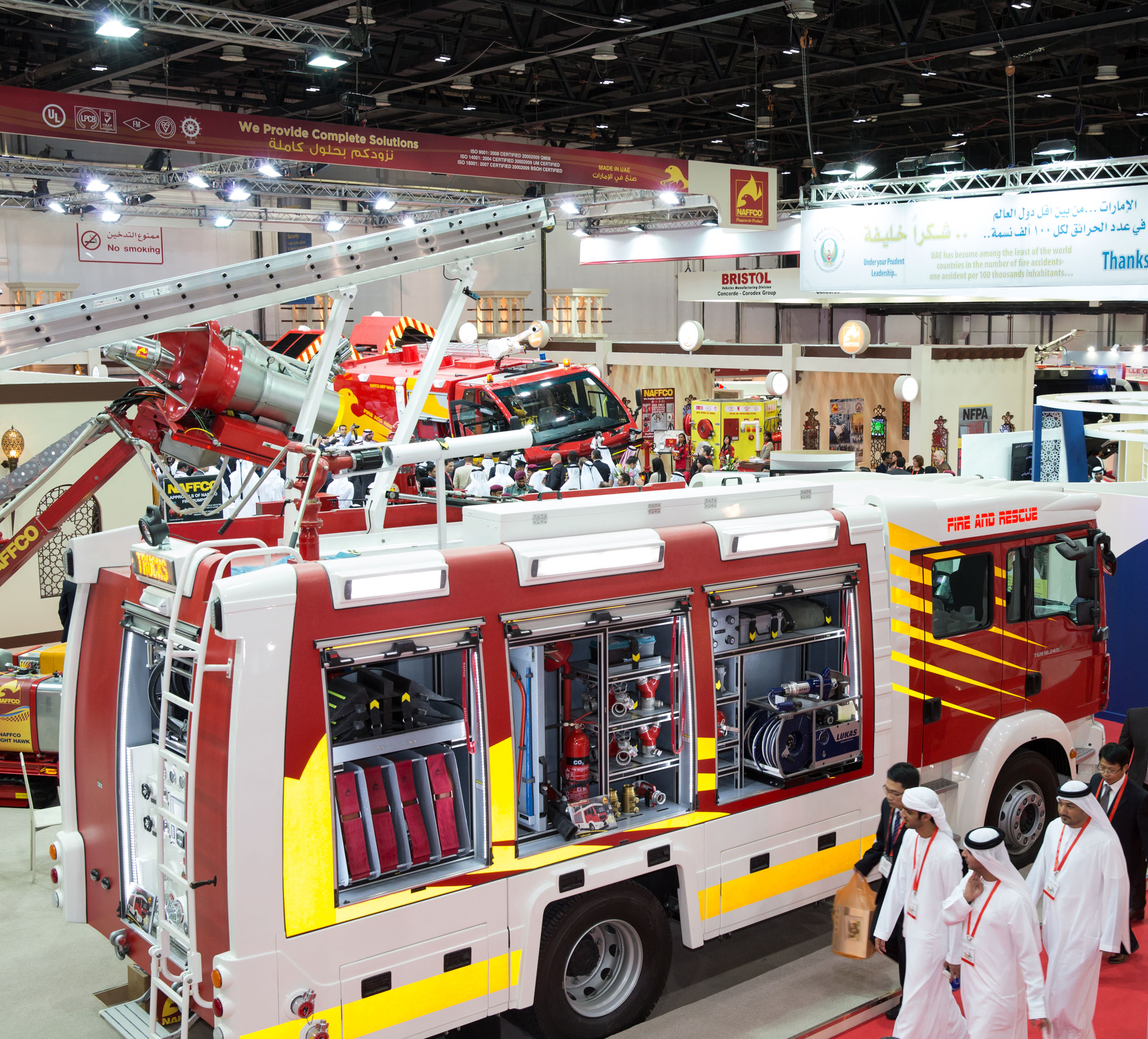 Intersec Dubai Exhibition Stand Area