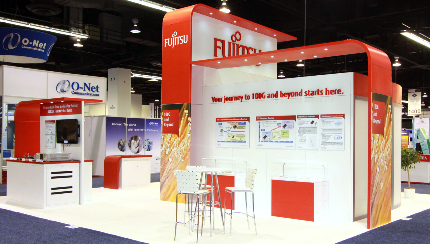 Ofc Exhibition Booth