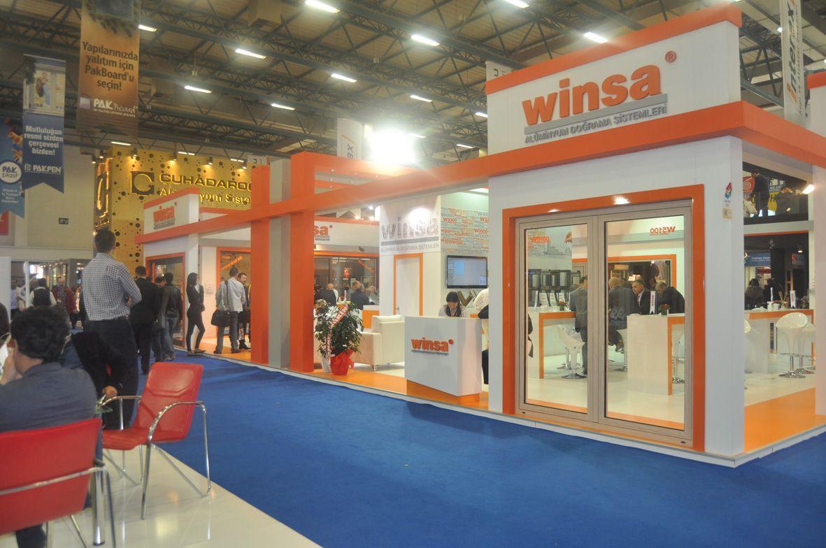 Exhibition Stand Design in YAPI Turkey Build Istanbul