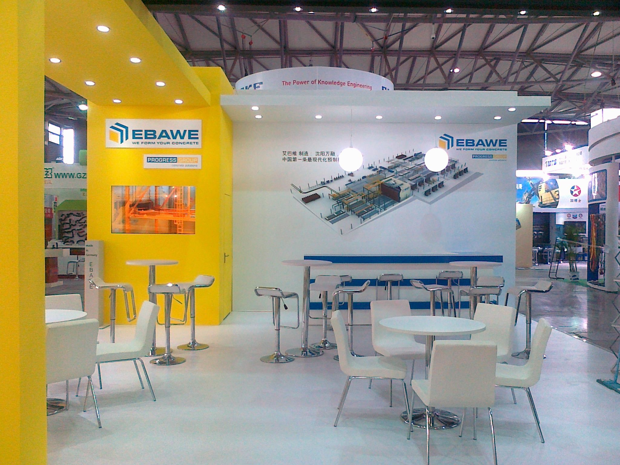 Stand Build at BAUMA China  2
