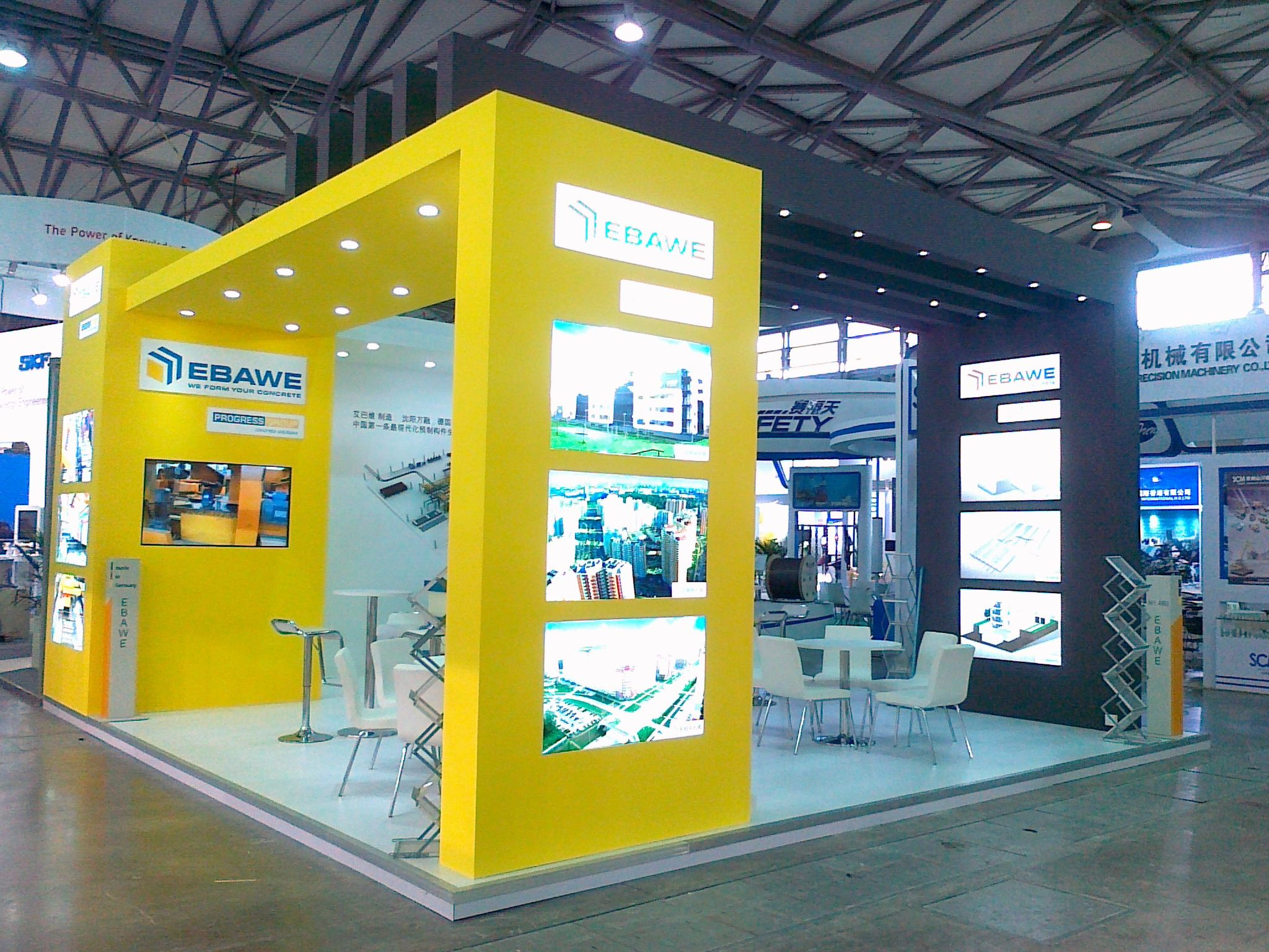 Stand Build at BAUMA China  1