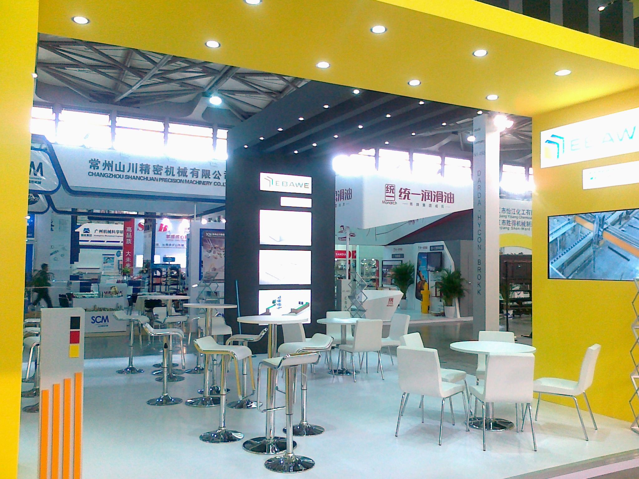 Stand Build at BAUMA China  4