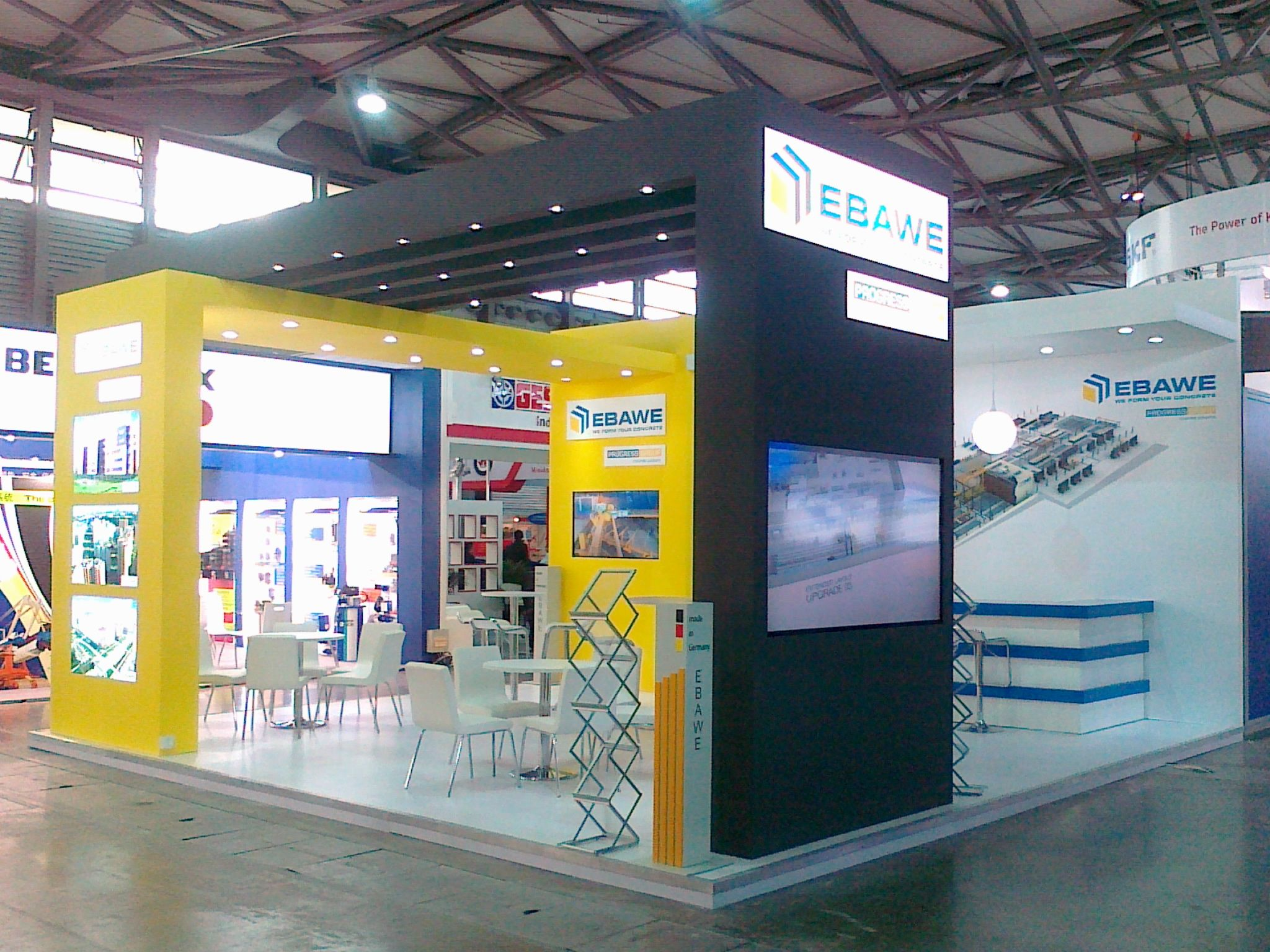 Stand Build at BAUMA China  3