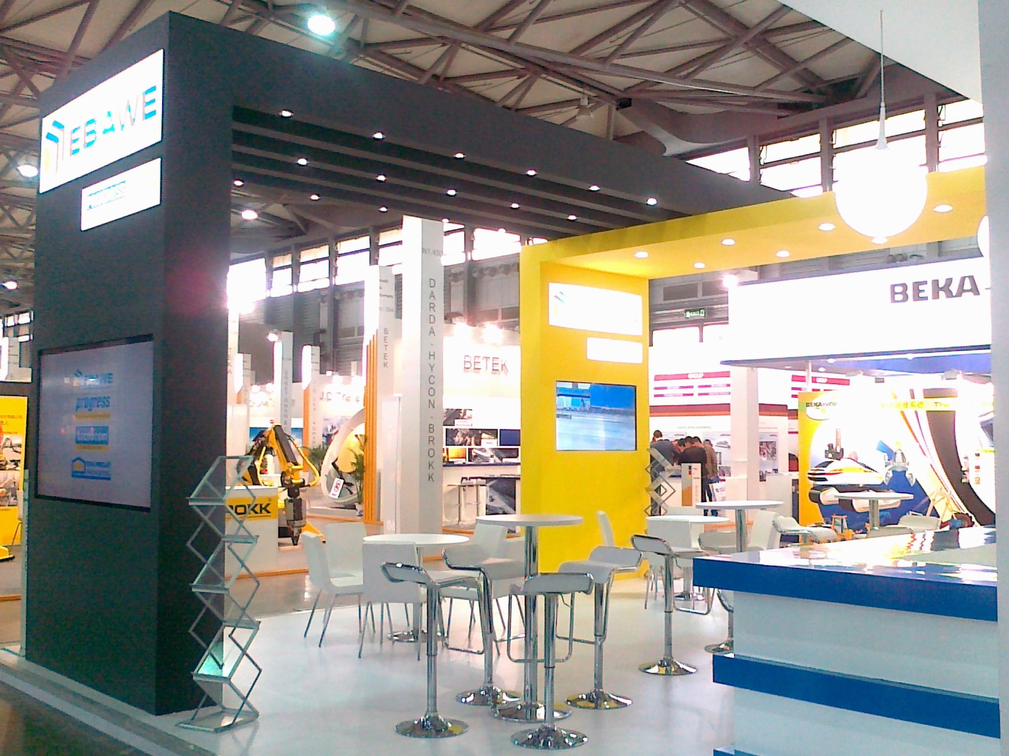 Stand Build at BAUMA China  5
