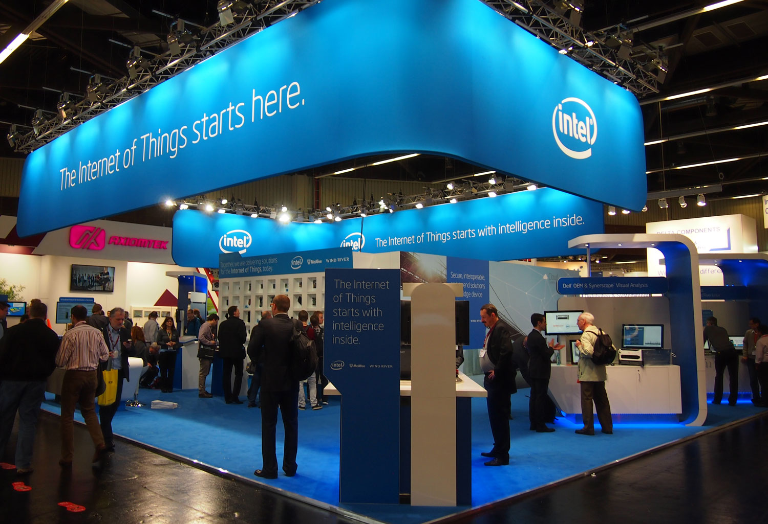 Embedded Nuremberg Intel Booth