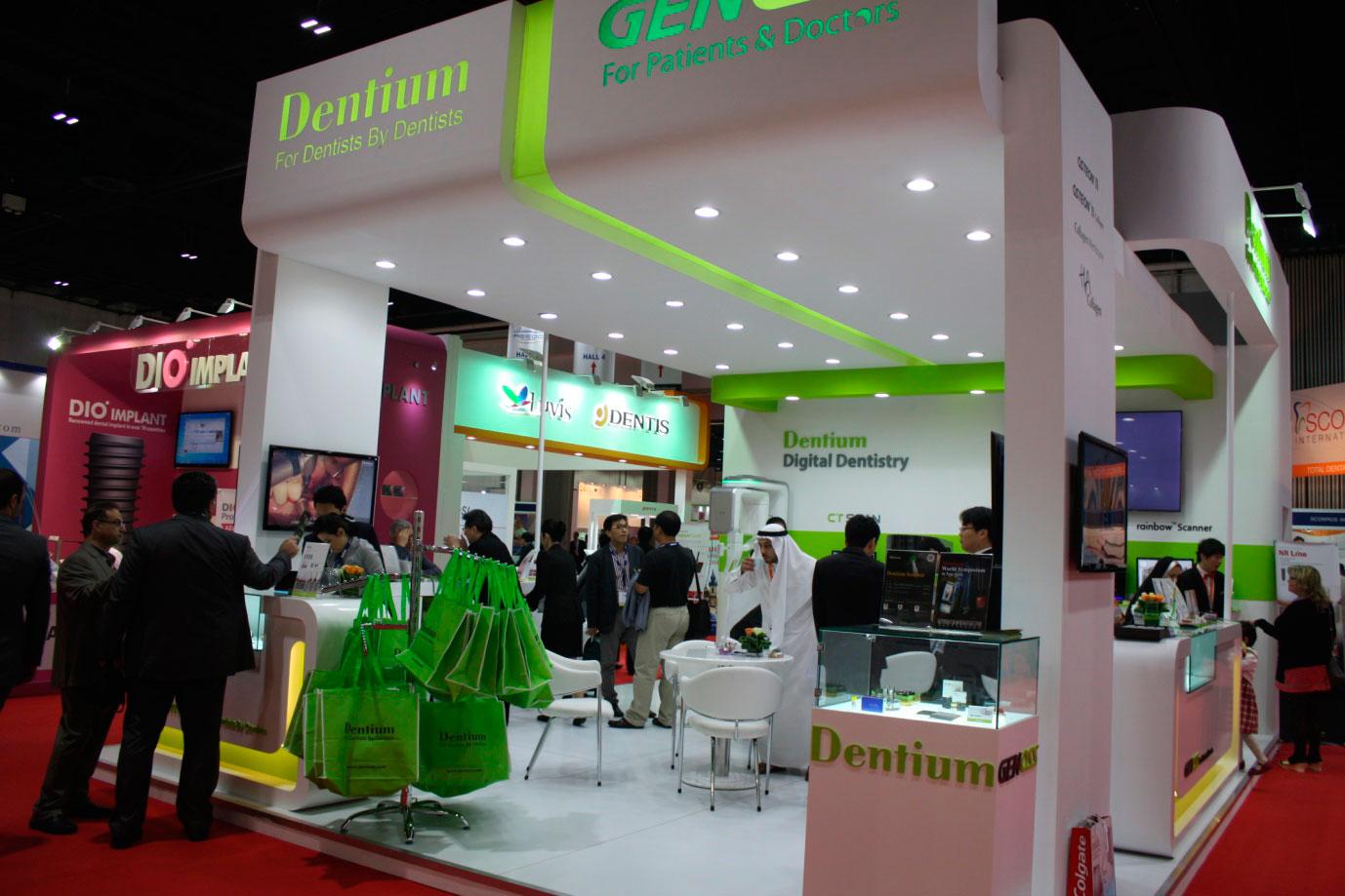 Exhibition Display Booth At Aeedc Dubai