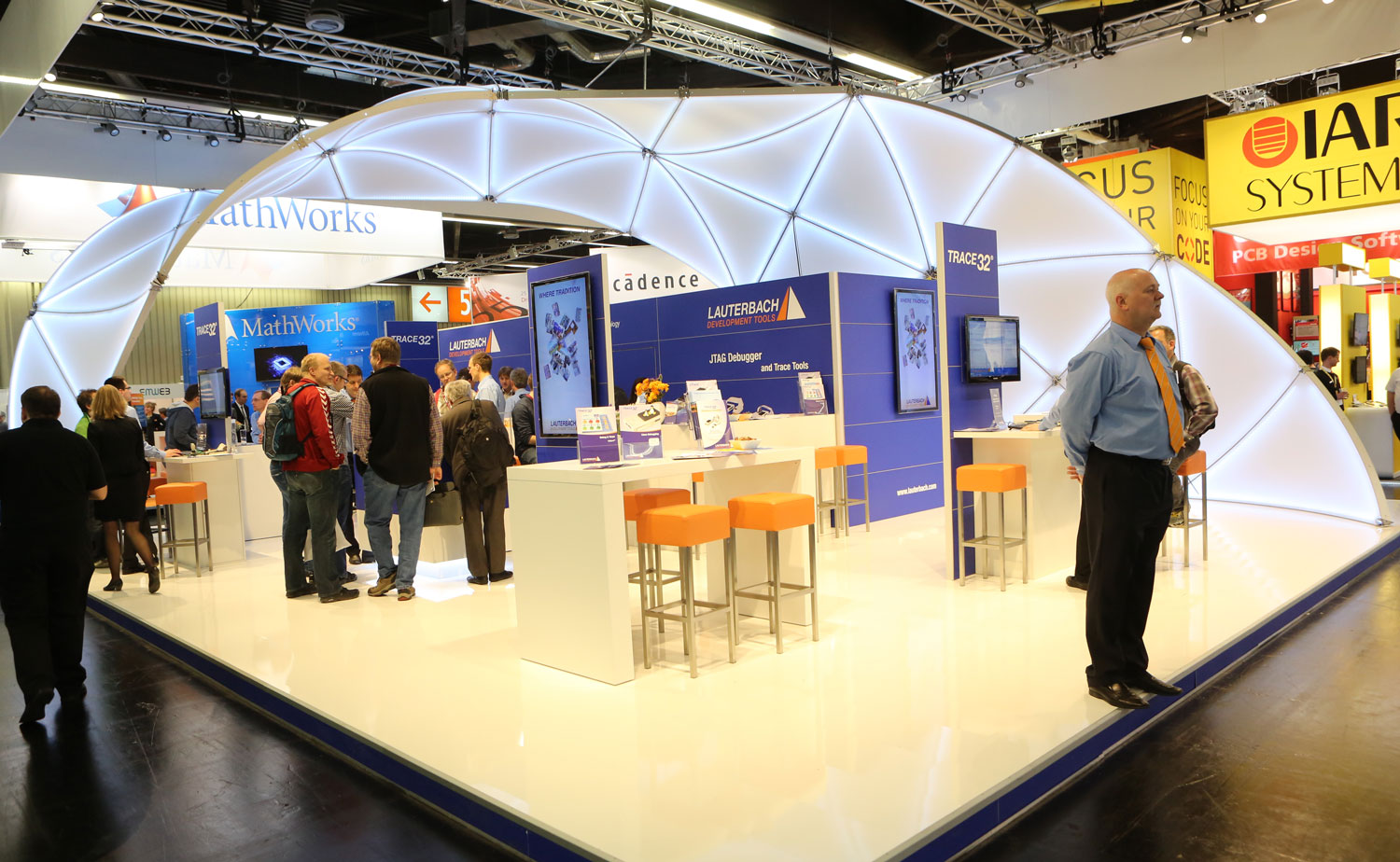 Nuremberg Exhibition Design At Embedded World