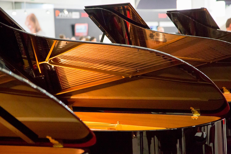 Piano At Muskmesse Frankfurt