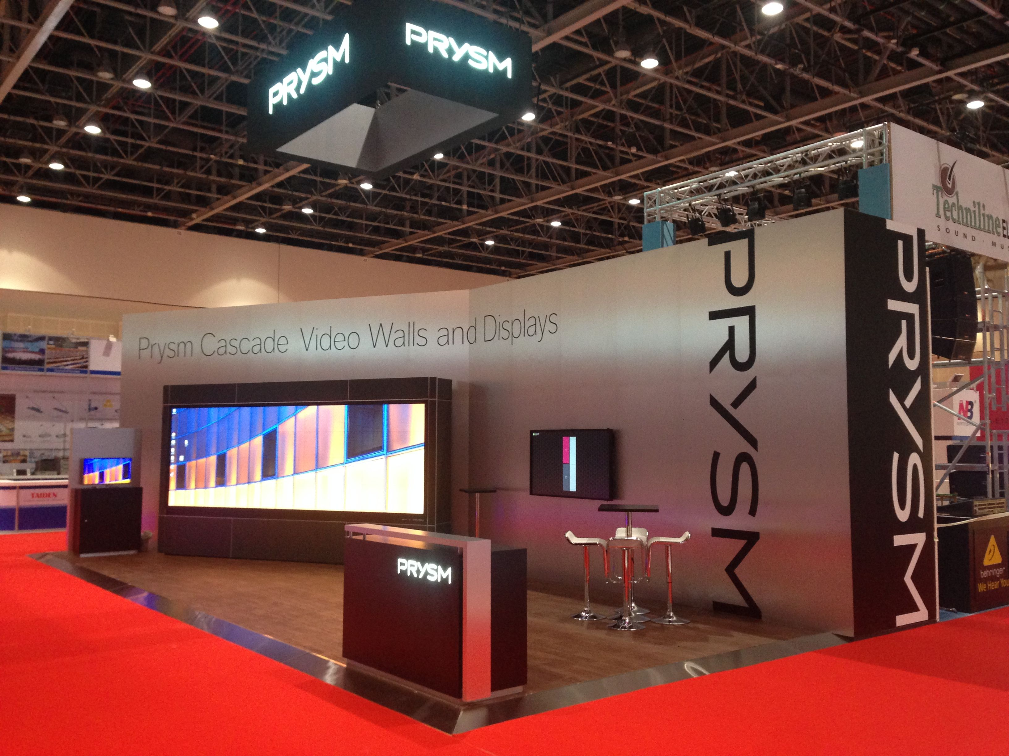 Prysm Infocomm Gitex Dubai Exhibition Booth