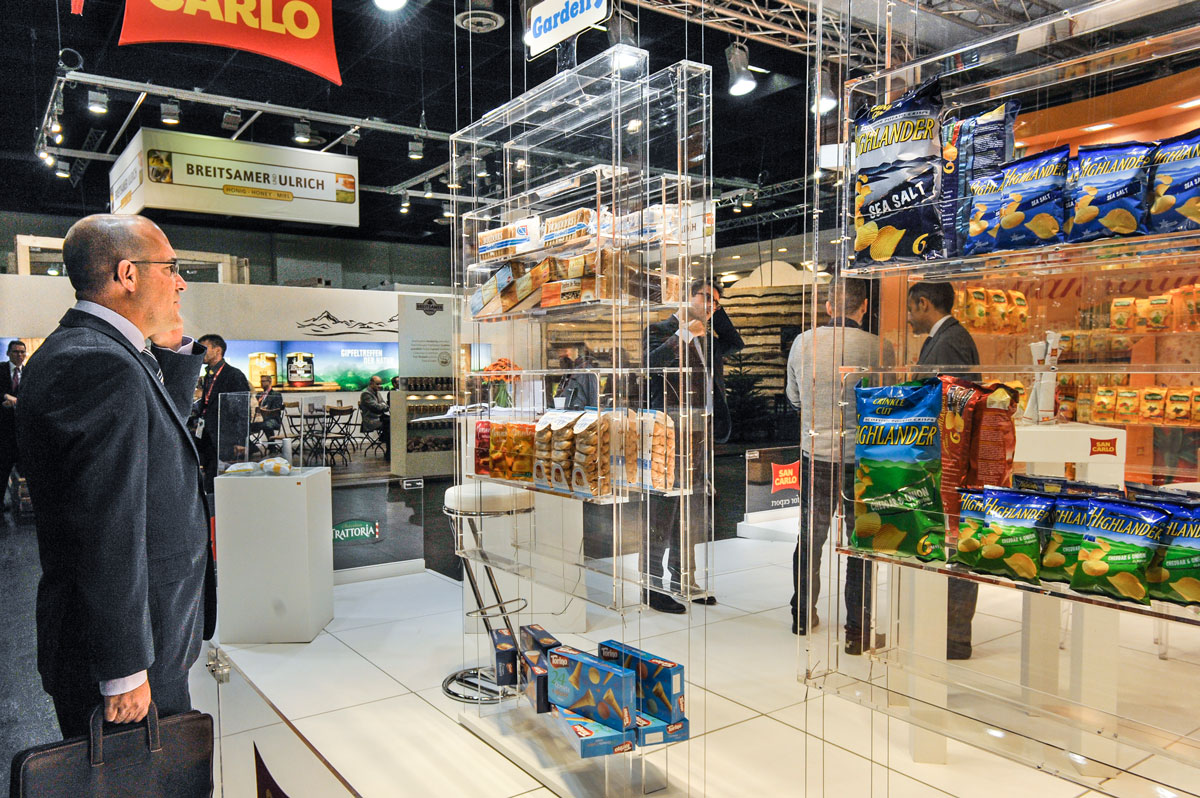 Expo Stands Trade Fair 2017 : Stands in anuga