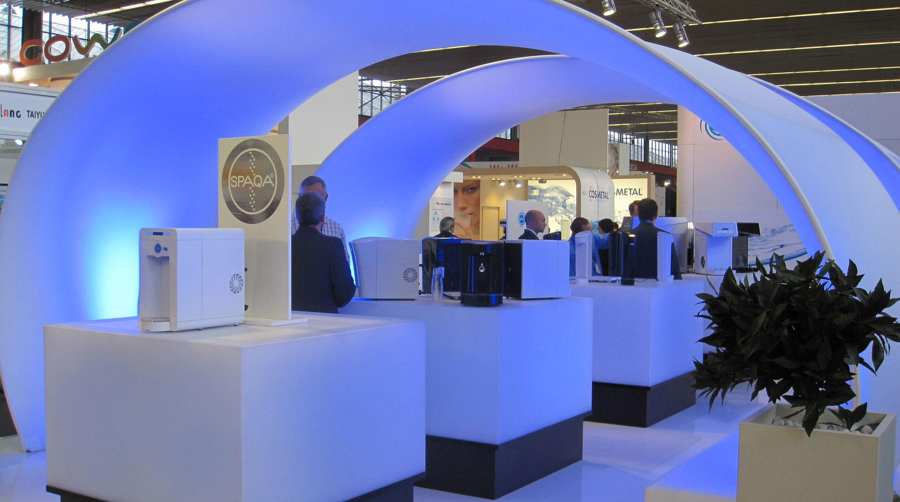 Aquatech Amsterdam Exhibit Design