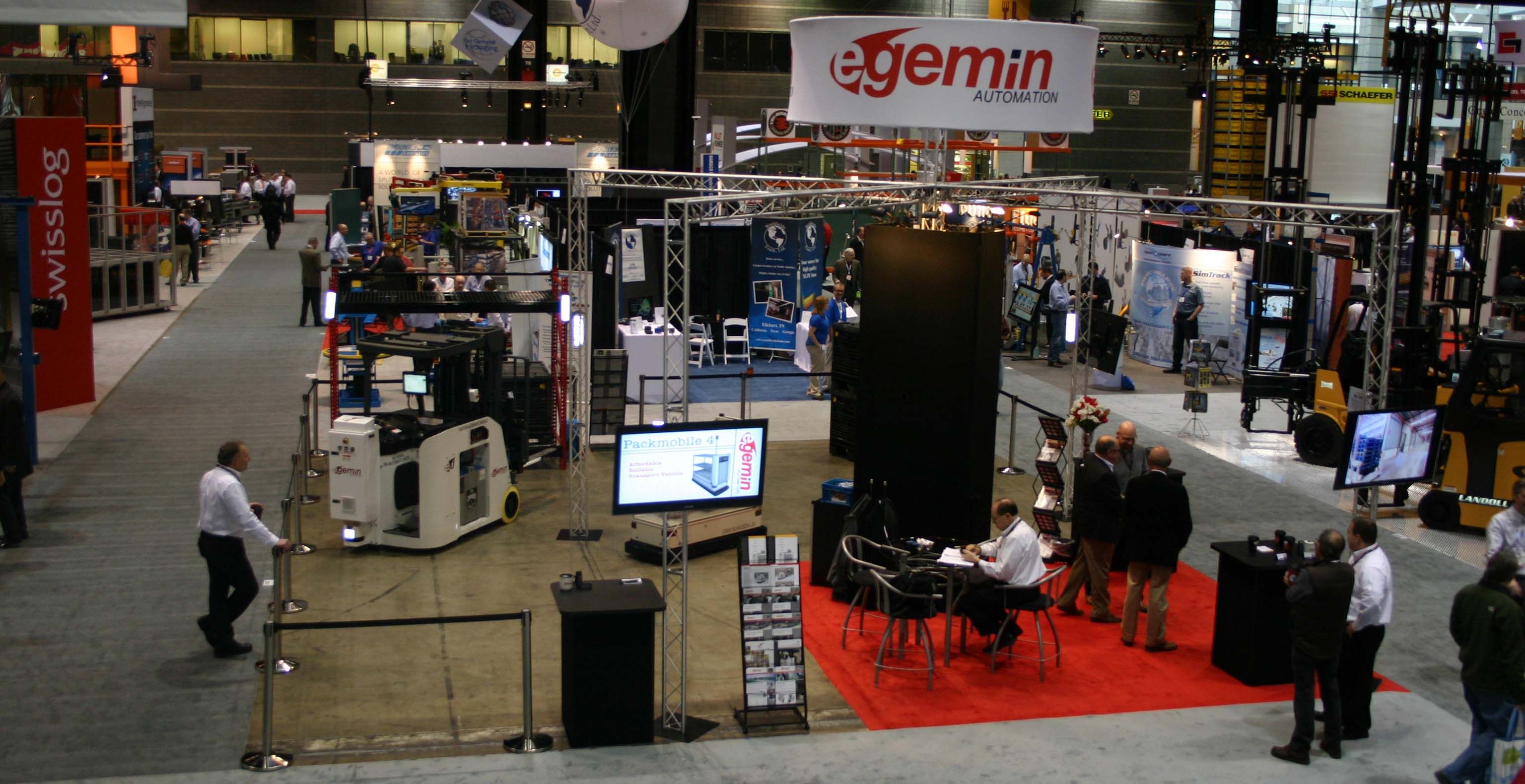 Promat Chicago Exhibition Area
