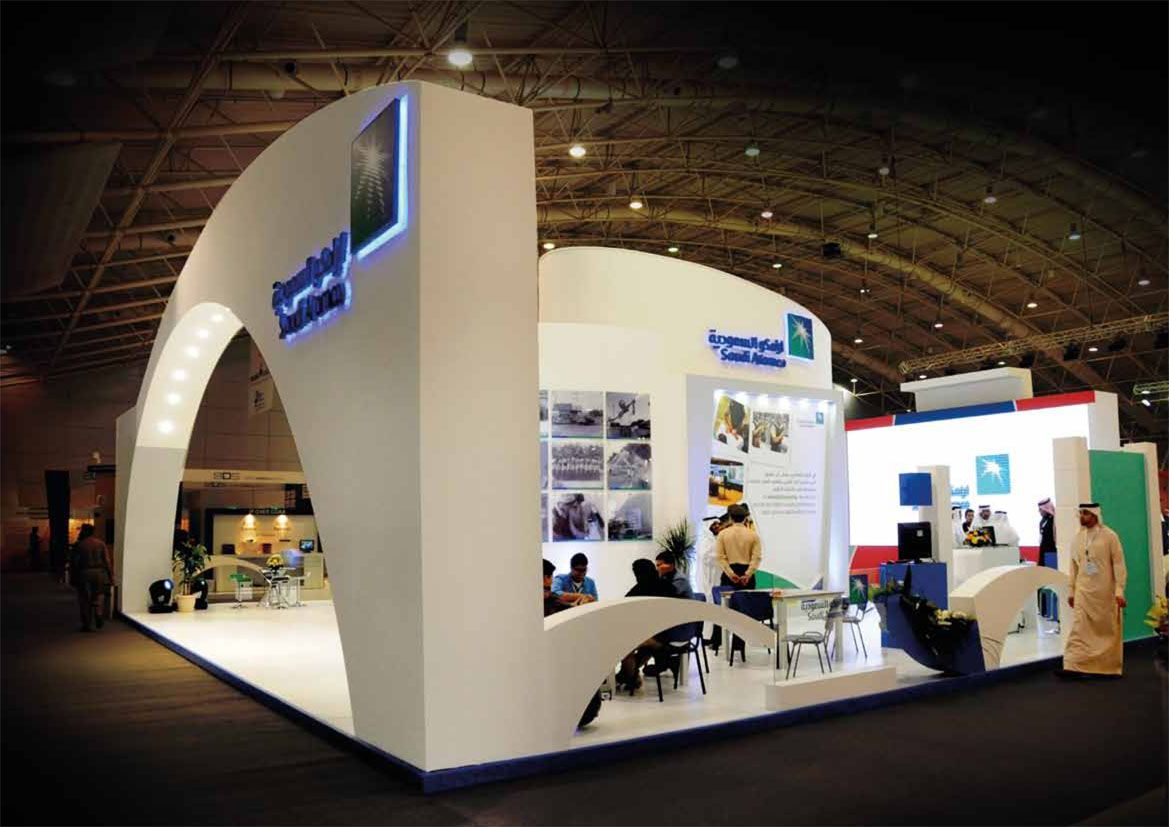 Saudi Trans Exhibition Island Booth
