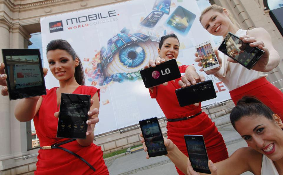 Mobile World Congress Barcelona Promotional Staff