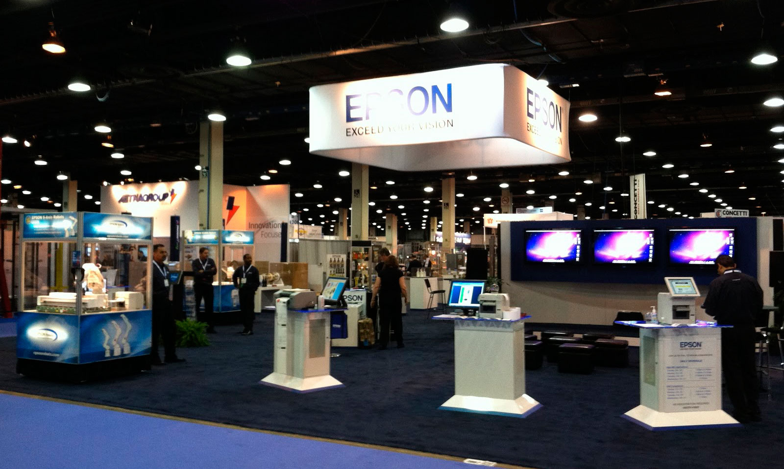 Epson Stand At Packexpo Las Vegas