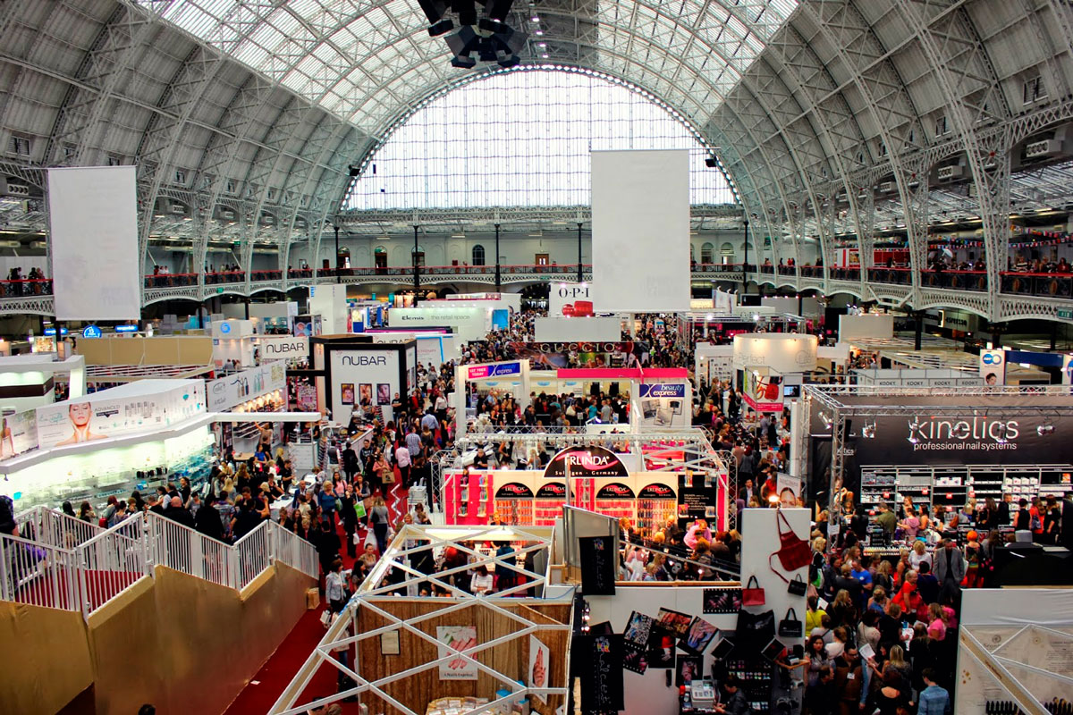 Professional Beauty London Exhibition Floor Area