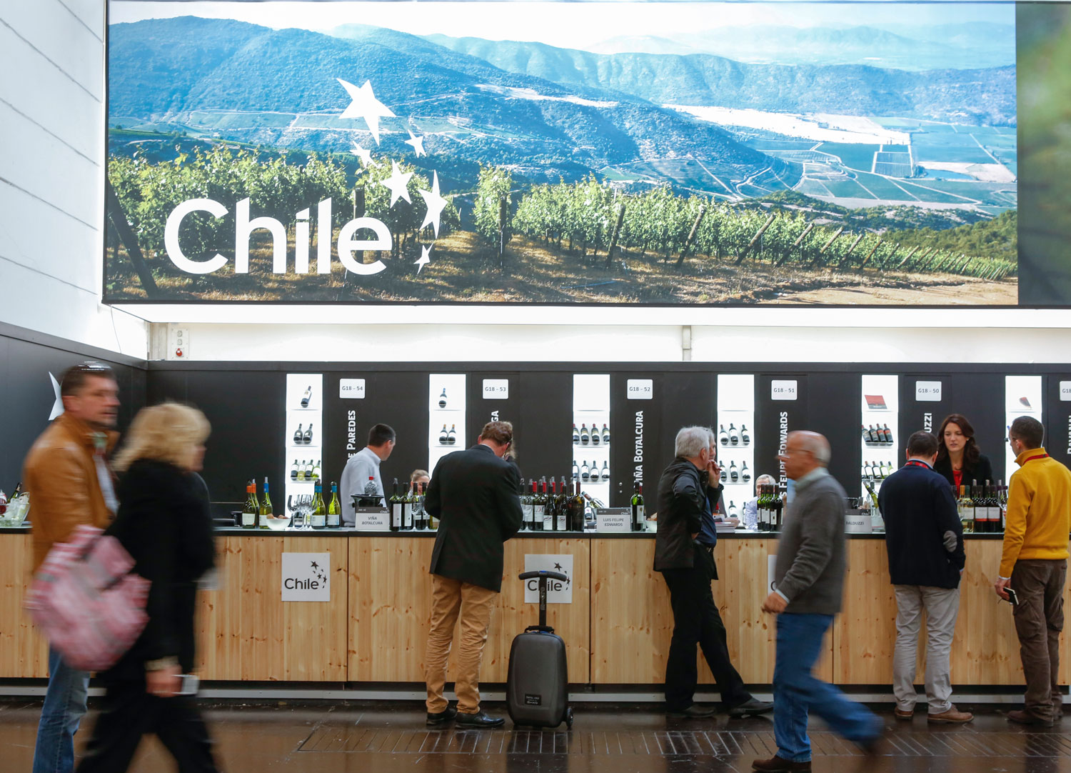 Prowein Chile Stand