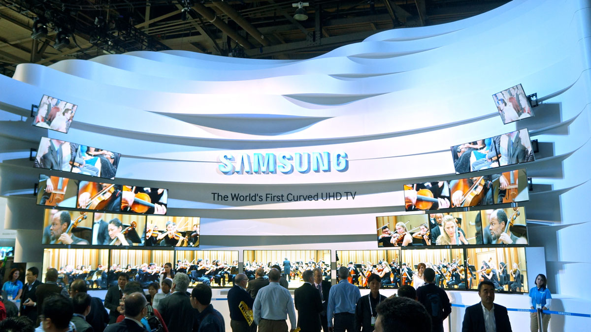 Samsung Stand At Ces