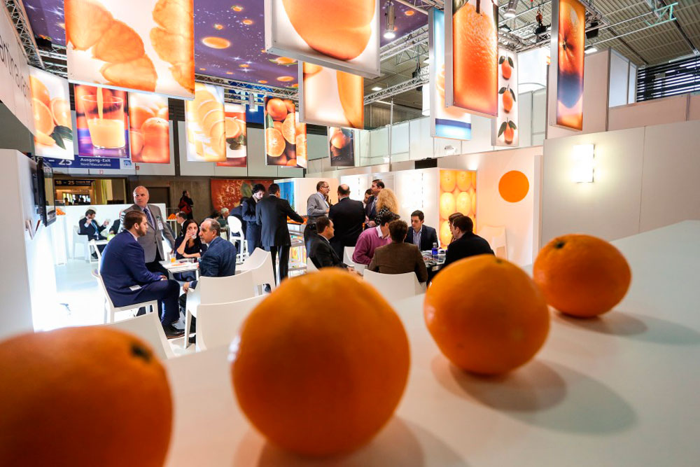 Spanish Exhibition Stand At Fruit Logistica Berlin