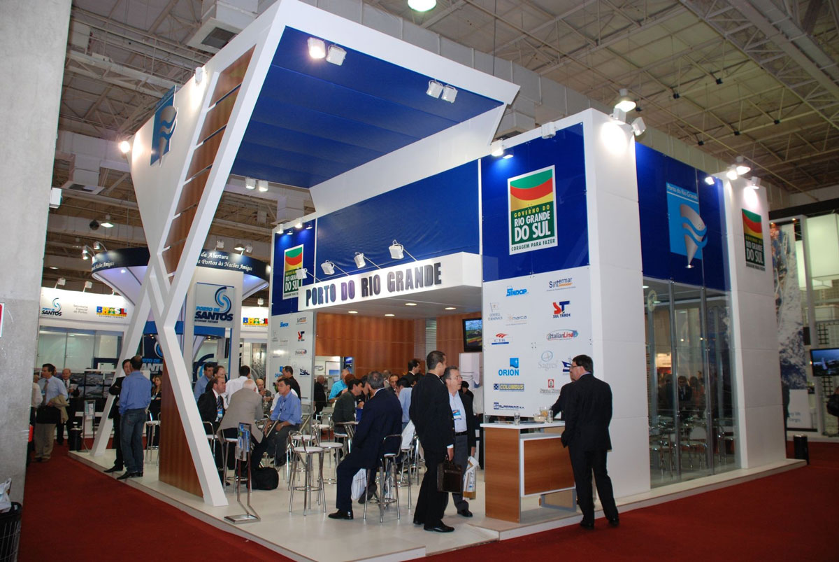 Wood Exhibition Design At Intermodal