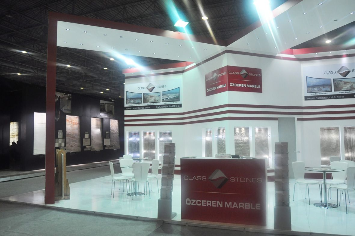Exhibition Stand Design in Istanbul Natural Stone 2