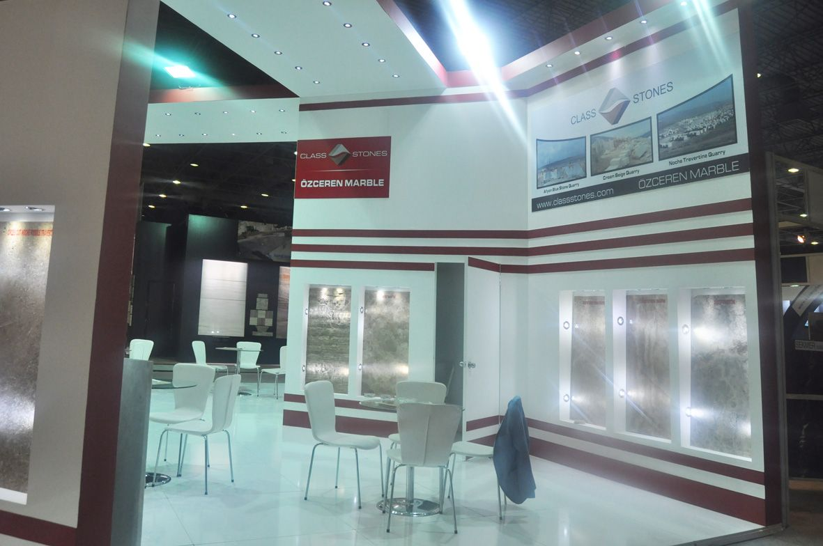 Exhibition Stand Design in Istanbul Natural Stone 3