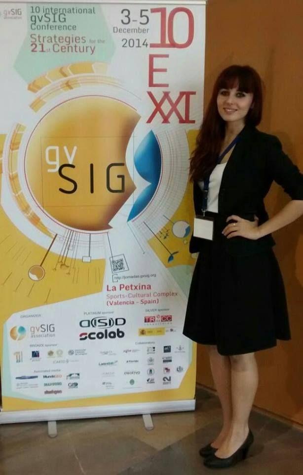 LeonAzafatas en las X Jornadas Internacionales gvSIG en Valencia 1