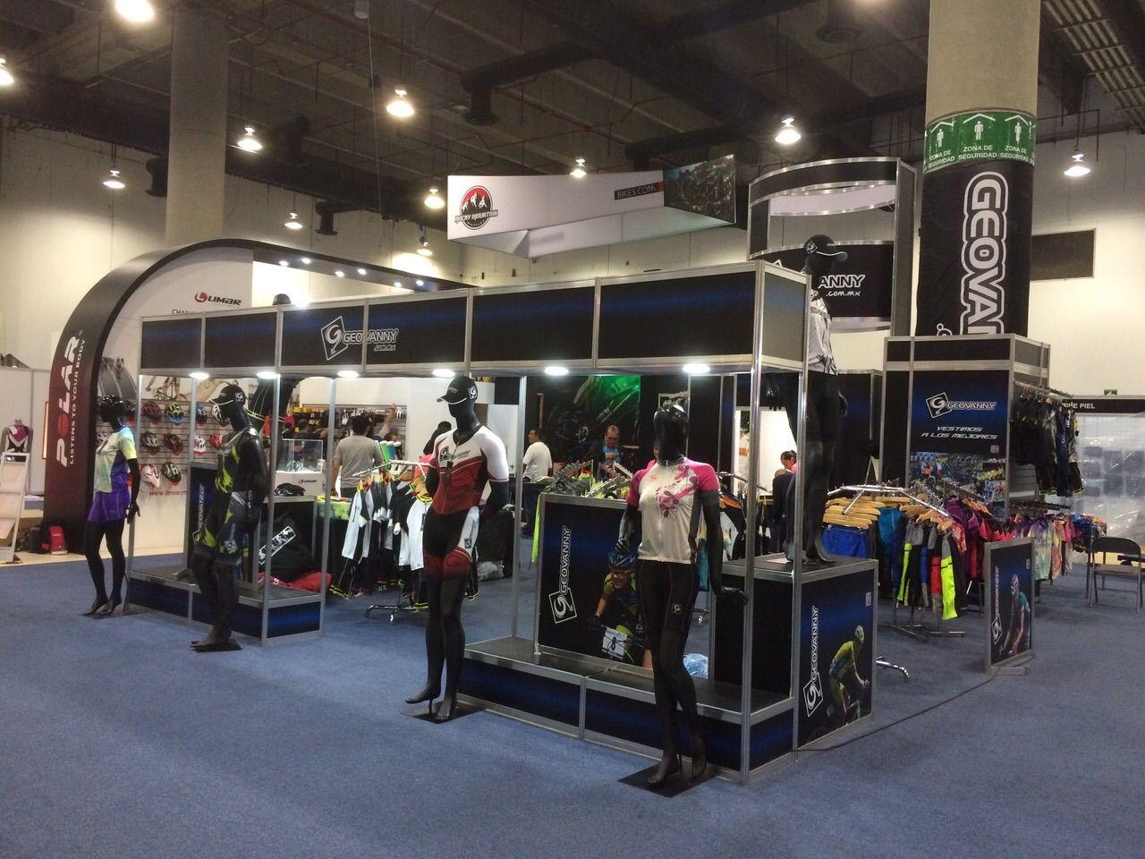 Stand Montado en Bici Expo Octubre 2014 1