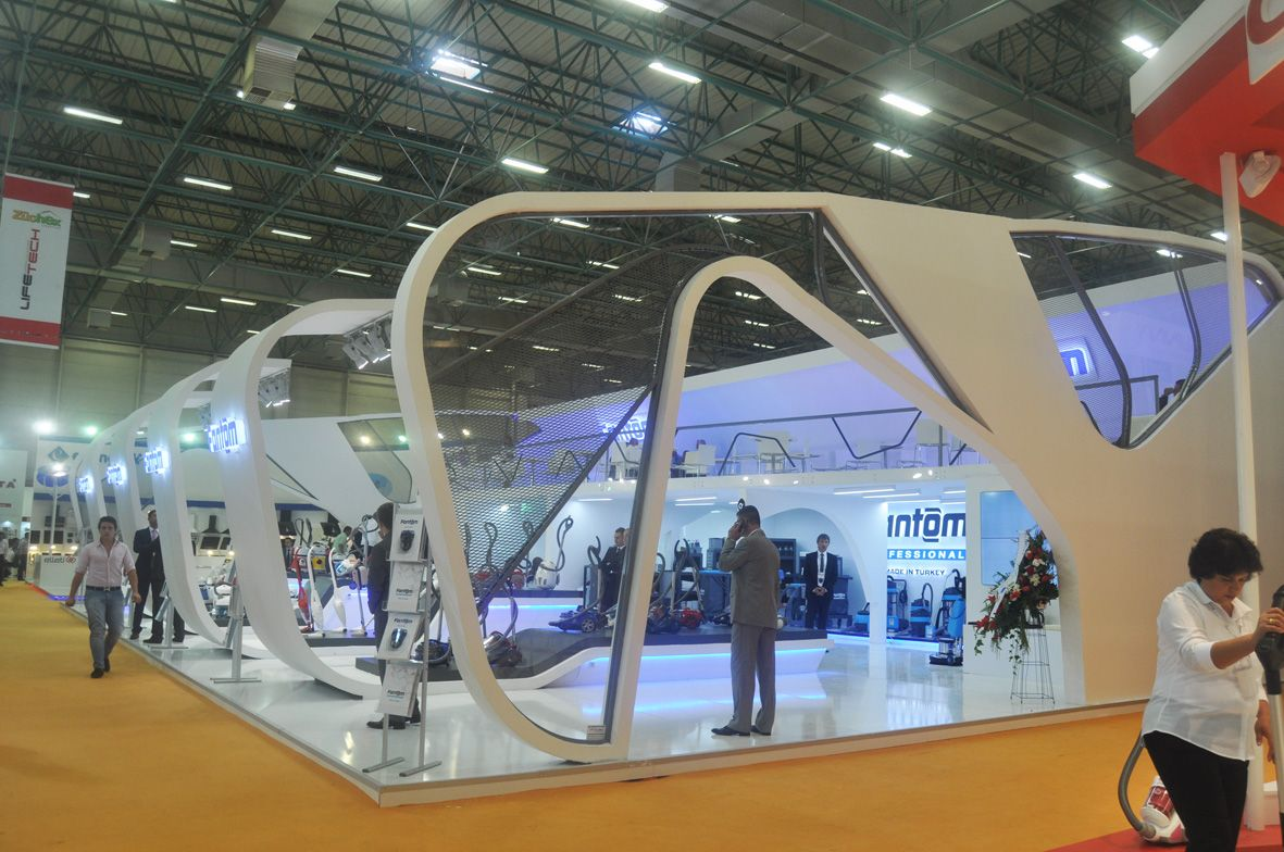 Two floor Exhibition Booth at Zücehx Istanbul 1