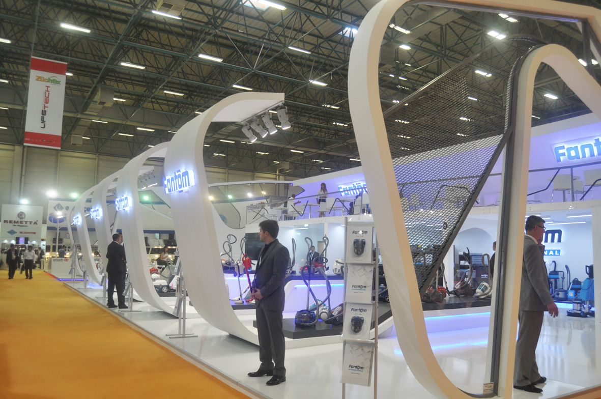 Two floor Exhibition Booth at Zücehx Istanbul 2